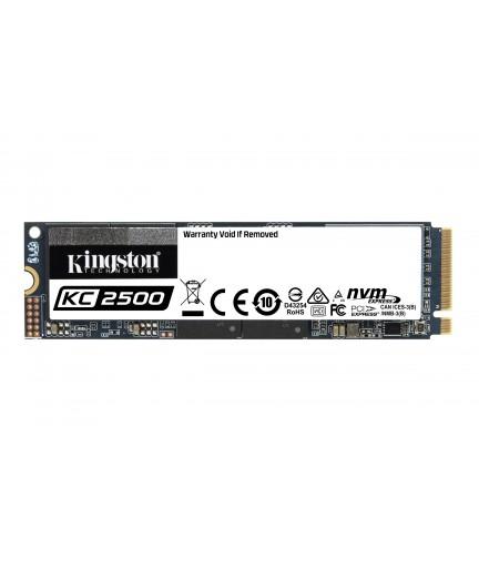 Kingston KC2500 500GB M.2 2280 PCIe Gen 3.0 x 4 SSD