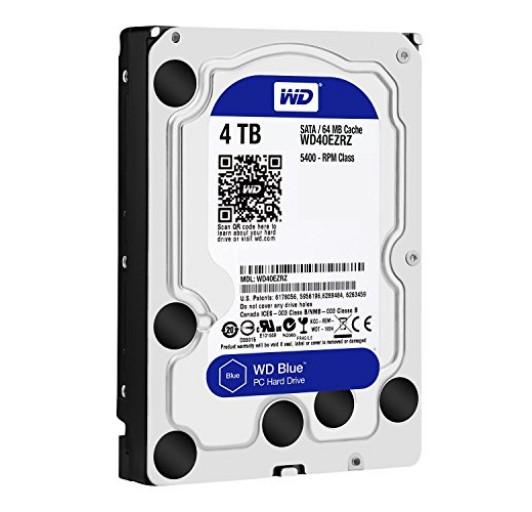 Western Digital Blue WD40EZRZ 4TB 5400RPM SATA3/SATA 6.0 GB/s 64MB
