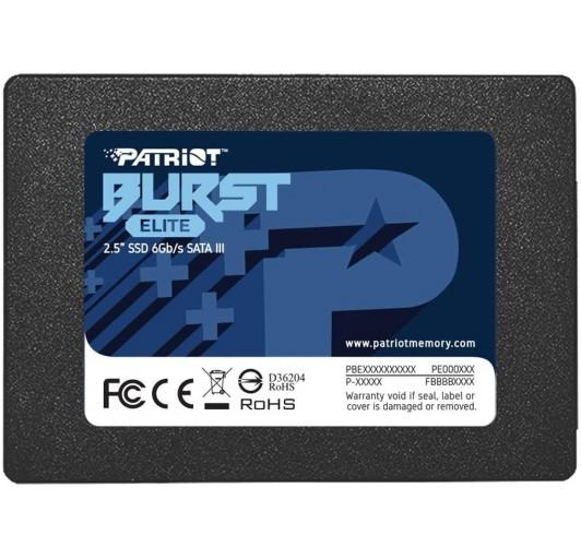 PATRIOT BURST ELITE SATA 3 120GB SSD