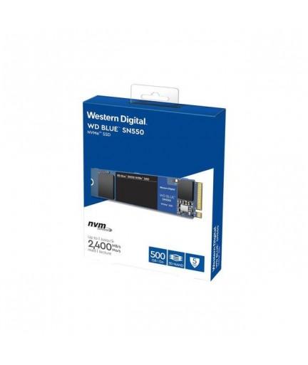 Western Digital Blue SN550 NVMe 500GB M.2 PCI-Exp 3.0 x4 SSD (3D NAND)